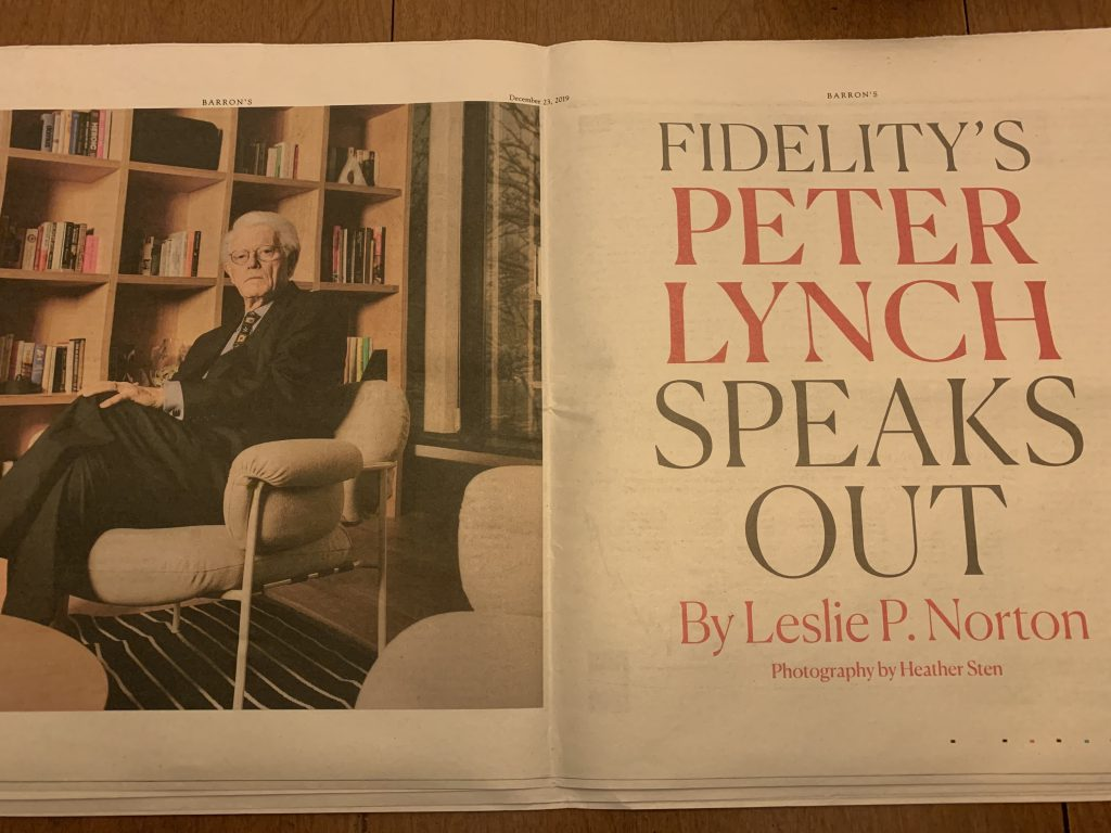 Peter Lynch interview